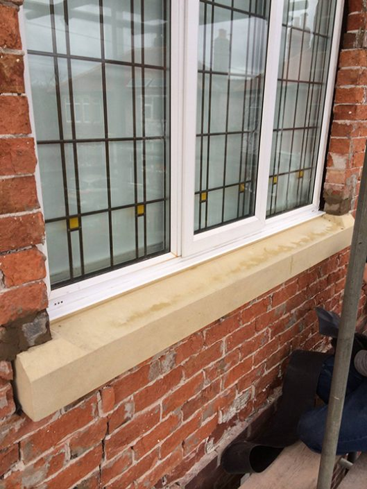 Damaged sills