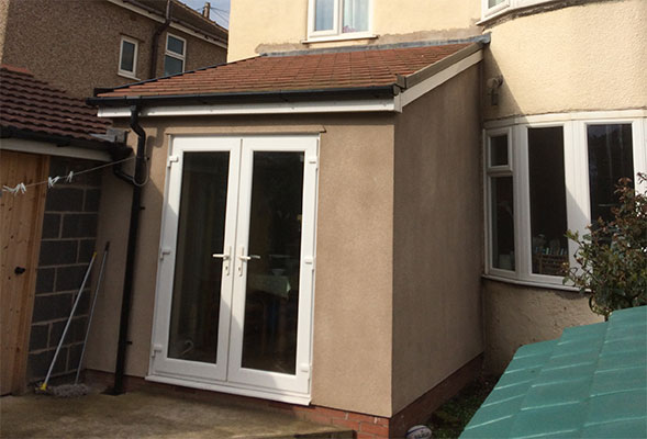 Rear extension re-build