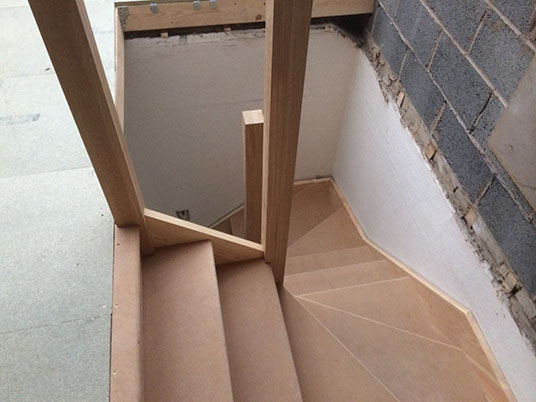 Hip To Gable Loft Conversion Staircase Building And