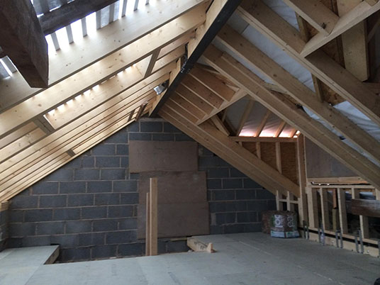 Hip To Gable Loft Conversion Truss Roofing Building And Joinery Contractors Fleetwood Blackpool