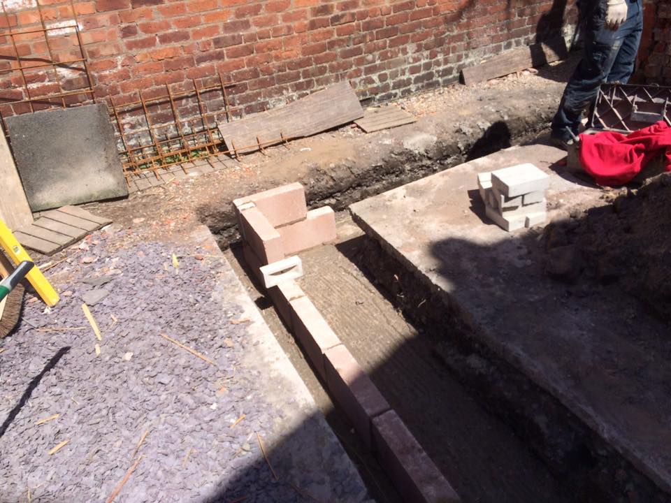 Extension Footings Building And Joinery Contractors