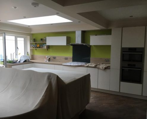 extension renovation and new kitchen